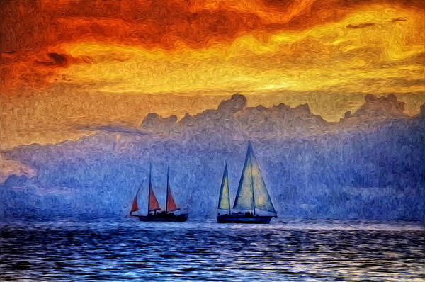 Photograph - The High Seas by Bill Cannon