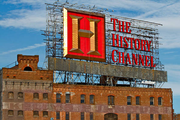 Photograph - The History Channel by Alice Gipson