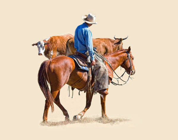 Ranch Digital Art - The Hold Up by Dewain Maney