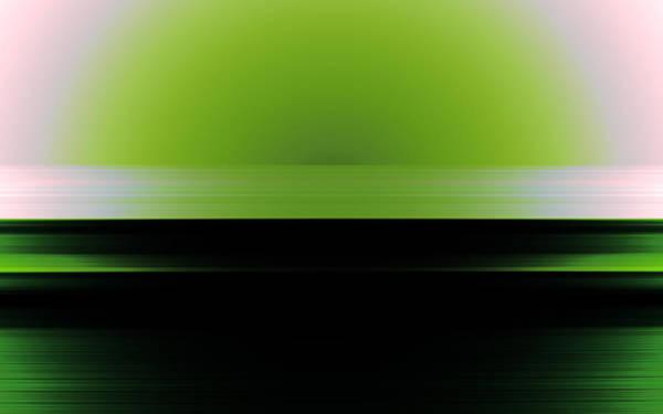 Art Print featuring the digital art The Horizon by Mihaela Stancu