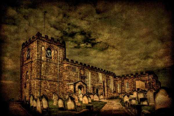 Cemetery Wall Art - Photograph - The House Of Eternal Being by Evelina Kremsdorf
