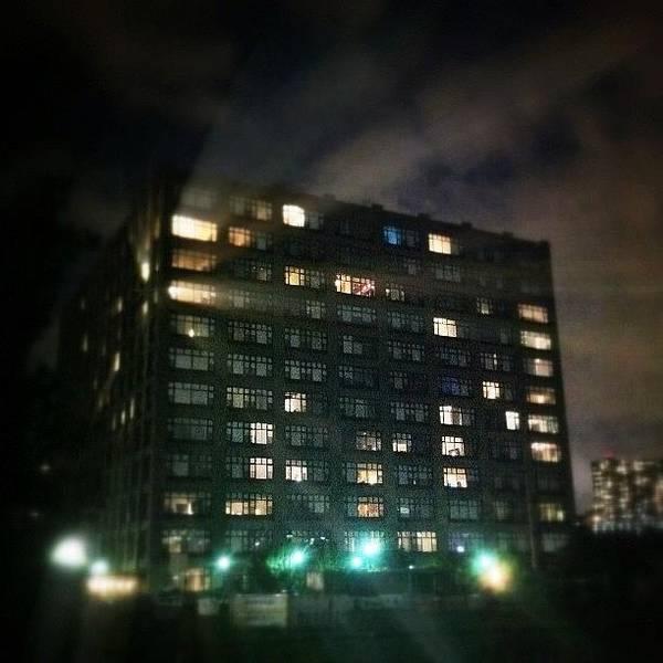 Gotham Wall Art - Photograph - The Hudson Tea Electric Bill. #hoboken by Justin DeRoche