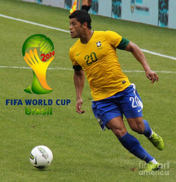 2010 Fifa World Cup Wall Art - Photograph - The Hulk Kicking Fifa 2014 by Lee Dos Santos