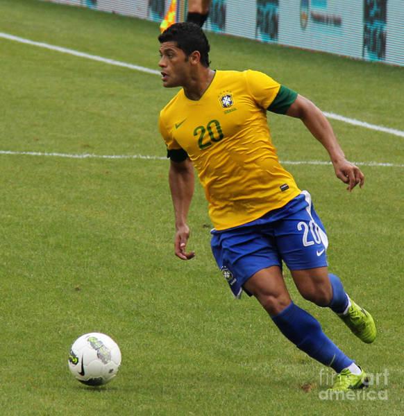 2010 Fifa World Cup Wall Art - Photograph - The Hulk Kicking by Lee Dos Santos