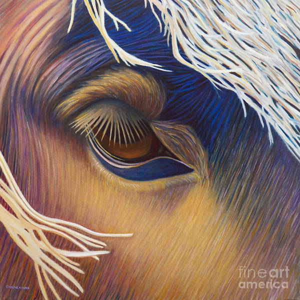 Wall Art - Painting - The Inner Voice by Brian  Commerford