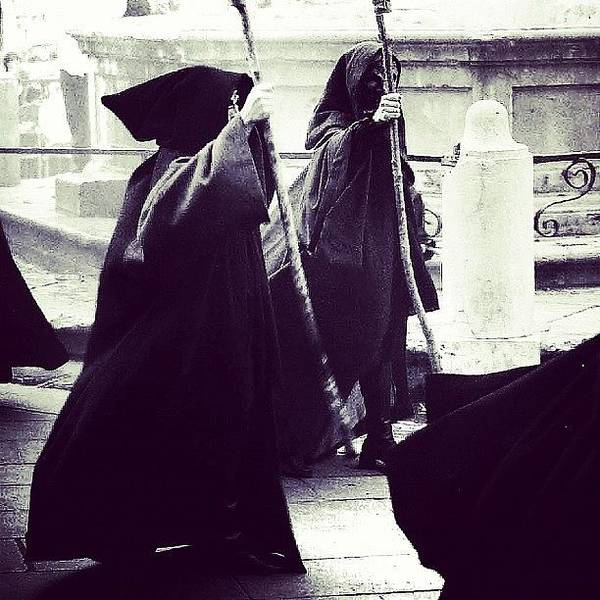 Ancient Photograph - The Inquisition #ig #igers #italy by A Rey