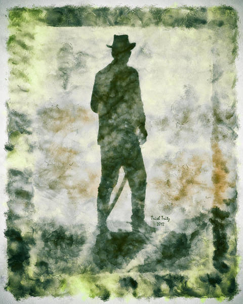 Photograph - The Irish Cowboy by Trish Tritz