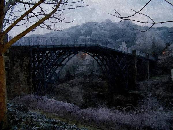 Digital Art - The Iron Bridge by Sarah Broadmeadow-Thomas