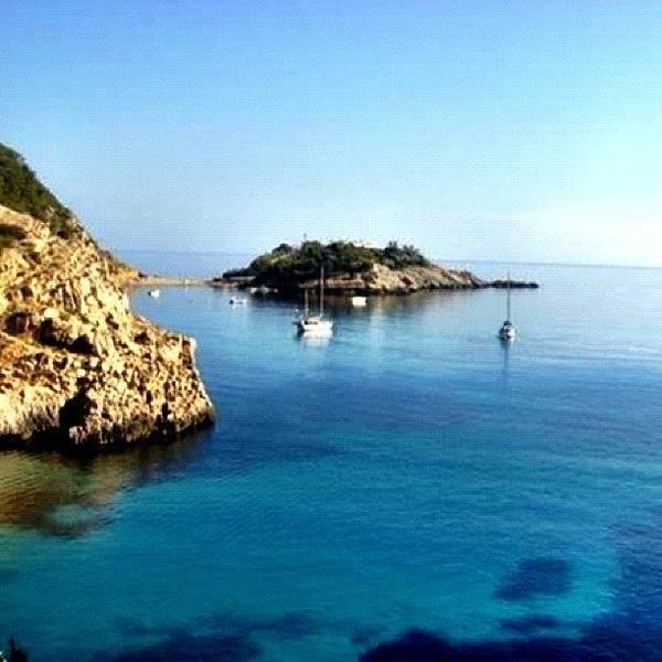 Wall Art - Photograph - The Island Of Ibiza #ibiza #island by David Sabat