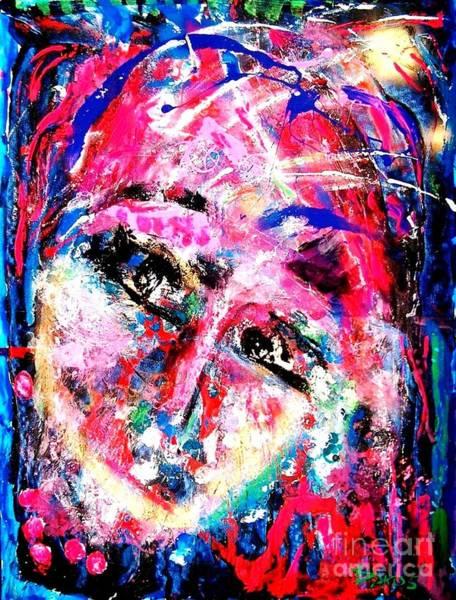 Sax Painting - The Joker by Darlyne Sax