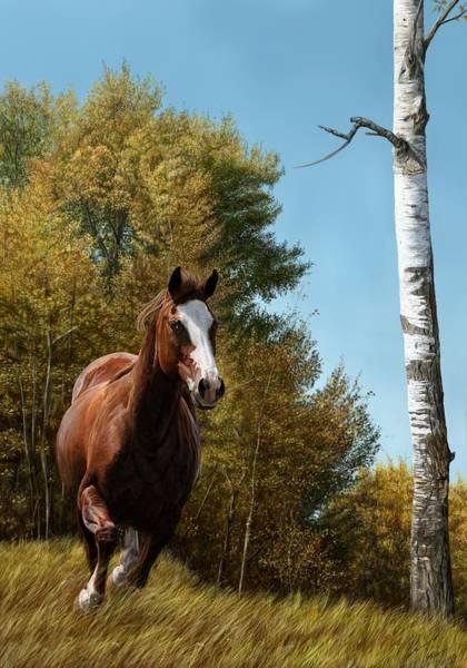Grass Tree Digital Art - The Journey by Laura Klassen