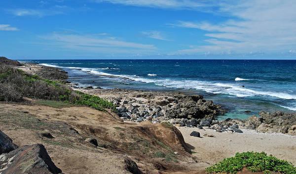 Kaena Photograph - The Kaena Shoreline 7800 by Michael Peychich