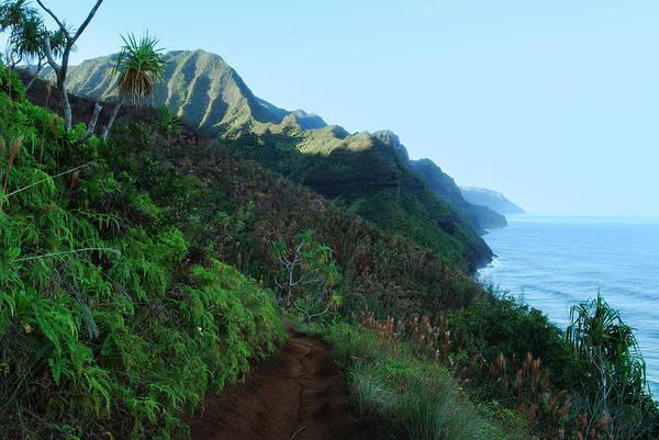 Kalalau Trail Wall Art - Photograph - The Kalalau Trail by Michael Peychich