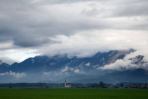 Stormcloud Photograph - The Kamnik Alps After A Storm by Ian Middleton