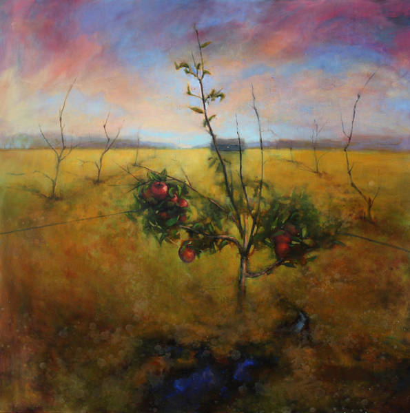 Apple Orchard Painting - The Keepers Harvest by Joshua Smith