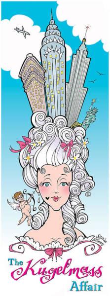 Hairdo Digital Art - The Kugelmass Affair by Steven Stines