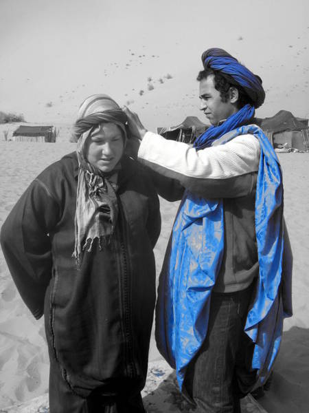 Wall Art - Photograph - The Lady And The Berber by Alexandre Lafreniere