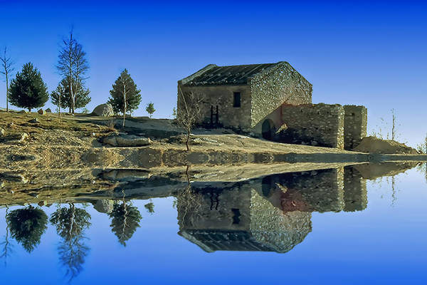 Photograph - The Lake Santuary - Santuario Della Madonna Del Lago by Enrico Pelos