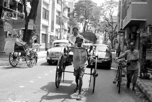 Wall Art - Photograph - The Last Of The Chinese Cycle-rickshaw Pullers Of Calcutta I by Abhilash G Nath
