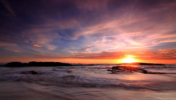 Photograph - The Last Rays by Paul Svensen