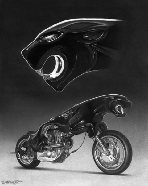 Drawing - The Leaper by Tim Dangaran
