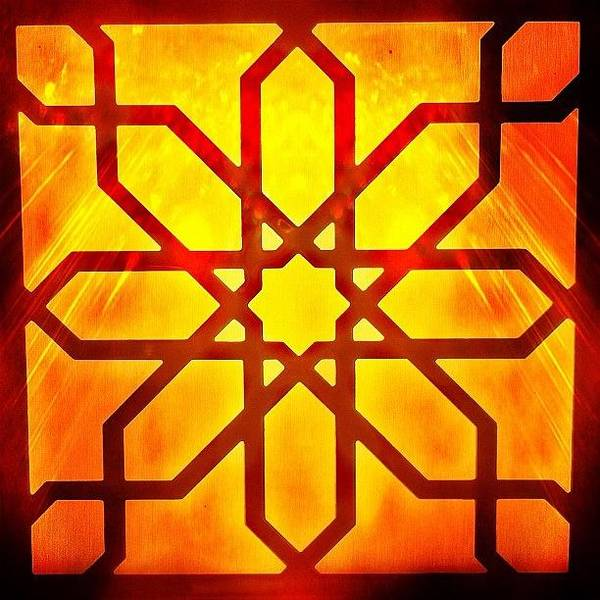 Fractal Wall Art - Photograph - The #light #egypt #instagram by Pixie Copley