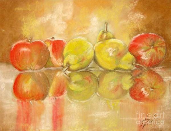 Wall Art - Pastel - The Line Up by Sandra Valentini