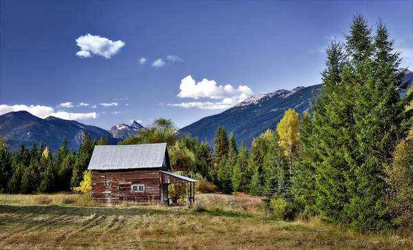 Photograph - The Little Cabin by Endre Balogh