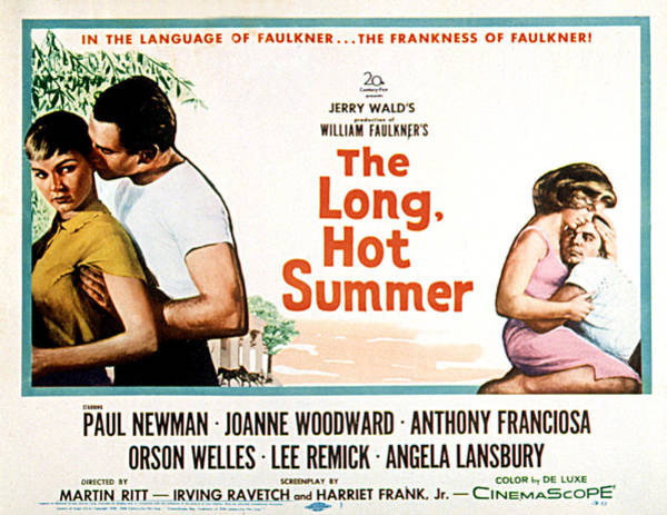 1958 Movies Photograph - The Long, Hot Summer, Joanne Woodward by Everett
