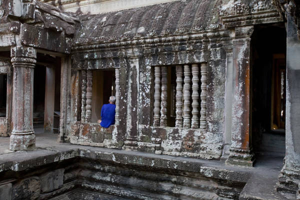 Wall Art - Photograph - The Main Temple Of Angkor Wat by Michael S. Lewis