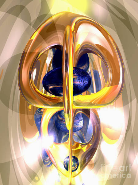 Wall Art - Digital Art - The Majestic One Abstract by Alexander Butler