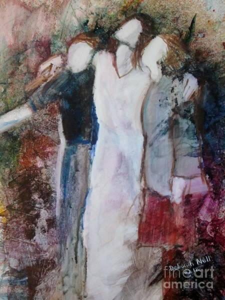 Painting - The Mediator by Deborah Nell
