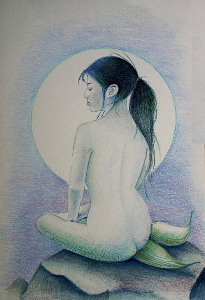 The Mermaid 1 Art Print