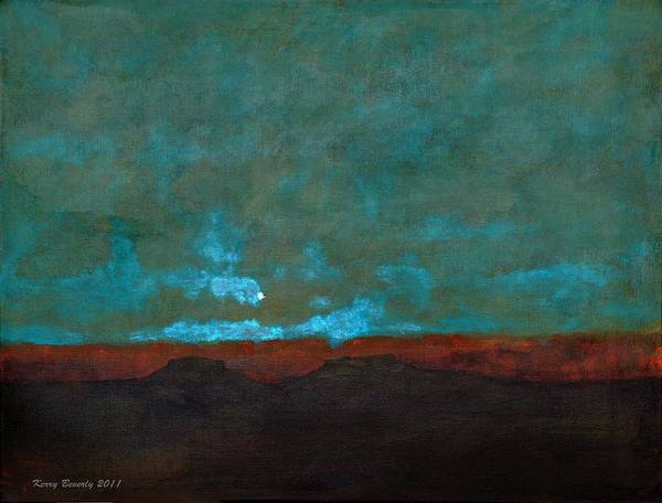 Painting - The Moon Winks At The Sun by Brandy Beverly