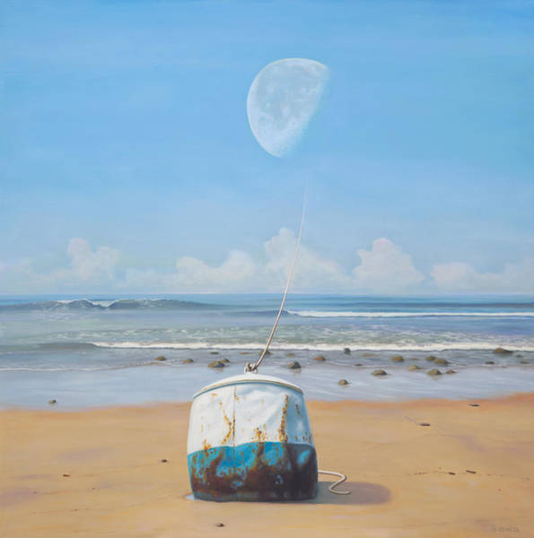 Idealism Wall Art - Painting - The Mooring by Paul Bond