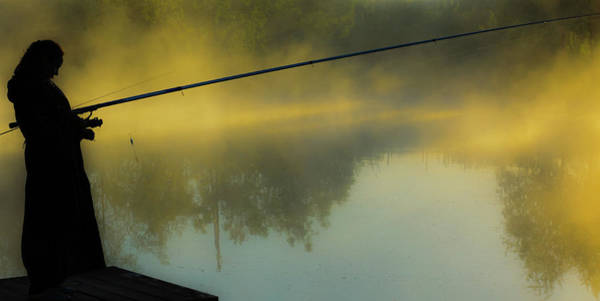 Photograph - The Morning On The Lake by Michael Goyberg