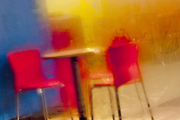 The Most Vibrant Of All Cafes Art Print