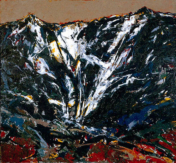 Wall Art - Painting - The Mount Durmitor by Vladimir Vlahovic