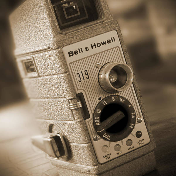 Bell Photograph - The Movie Camera by Mike McGlothlen