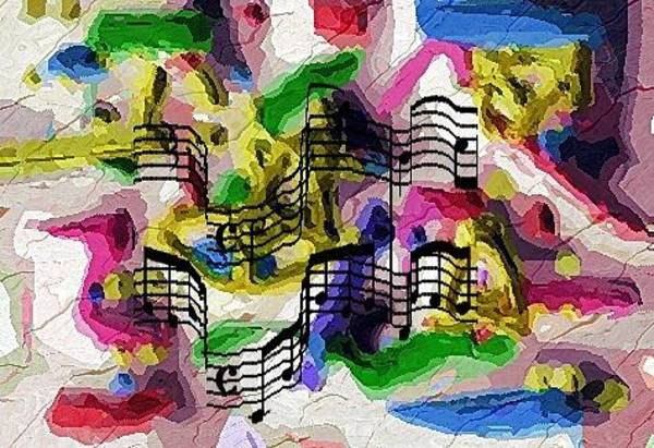 Digital Art - The Music In Me by Alec Drake