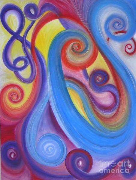 Wall Art - Painting - The Music Of Life by Lisa Bell