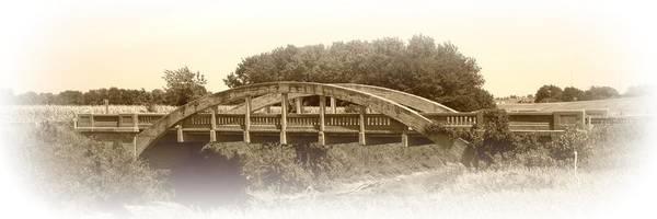 Wall Art - Photograph - The Old Bridge In Sepia by David Dunham