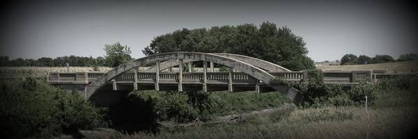 Wall Art - Photograph - The Old Bridge With Vignette by David Dunham