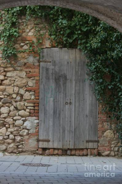 Wall Art - Photograph - The Old Door by Dennis Curry