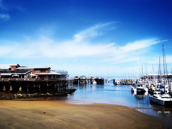 Photograph - The Old Fisherman's Warf by Matt Hanson