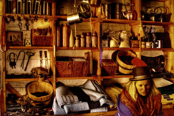 Photograph - The Old Store At Fort Nisqually by David Patterson