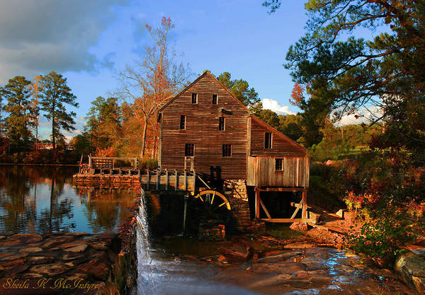 Photograph - The Old Yates Mill by Sheila Kay McIntyre