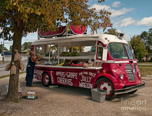 Photograph - The One And Only Jolly Wagon by Terry Doyle
