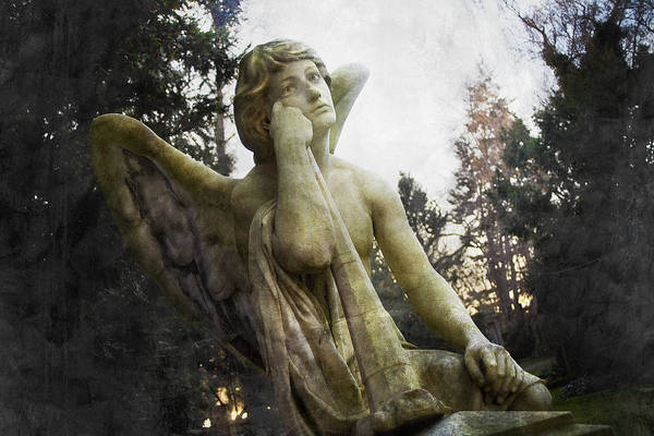 Weary Photograph - The One Angel by Marc Huebner