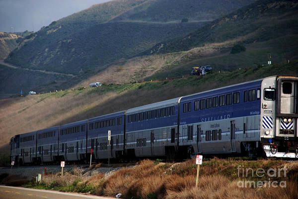 Photograph - The Pacific Surfliner Amtrak by Susanne Van Hulst